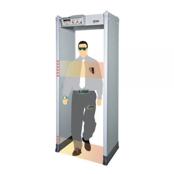เครื่องตรวจจับโลหะต้องสงสัย แบบเดินผ่าน CEIA รุ่น HI-PE Plus